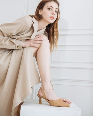 billy croc slingback_beige