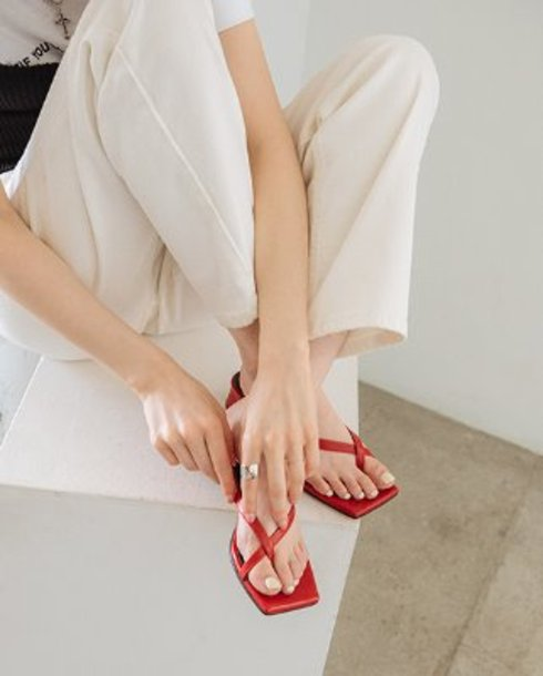 summer cross point mule_red