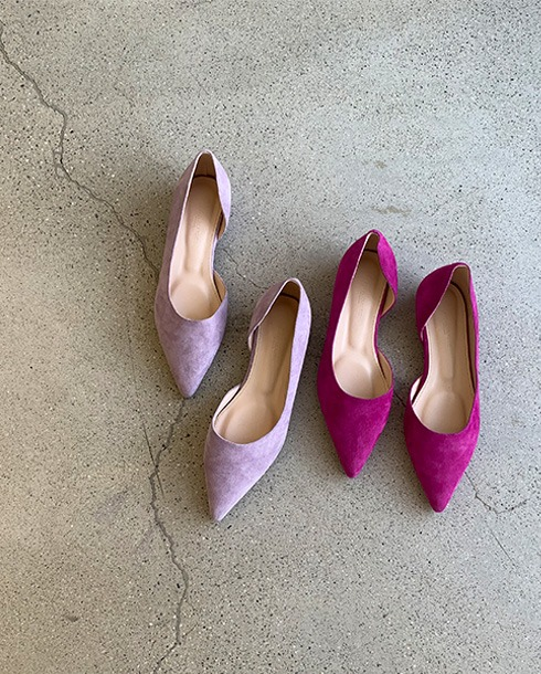 Yuri Flat Shoes_ lavender/ purple